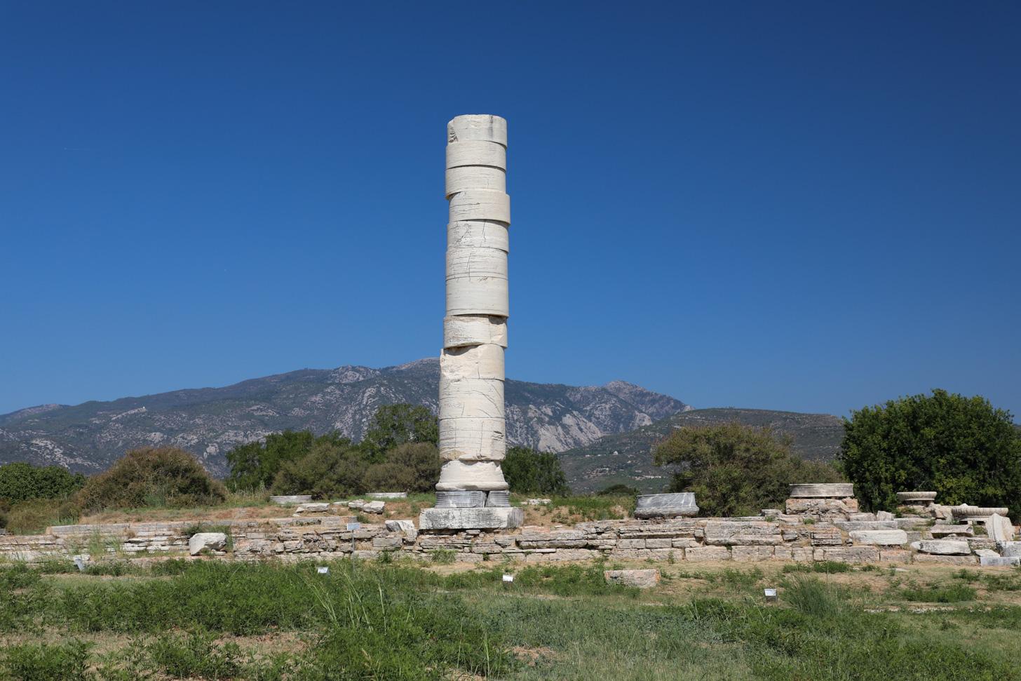 Het Heraion van Samos