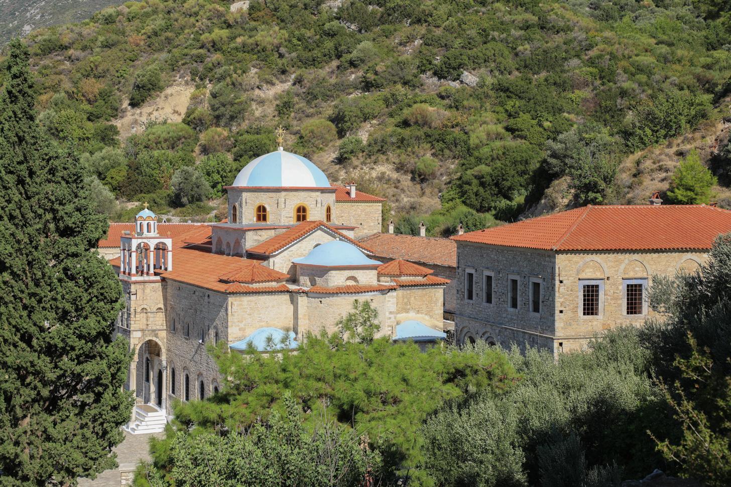 Het Timíou Stavroú-klooster op Samos