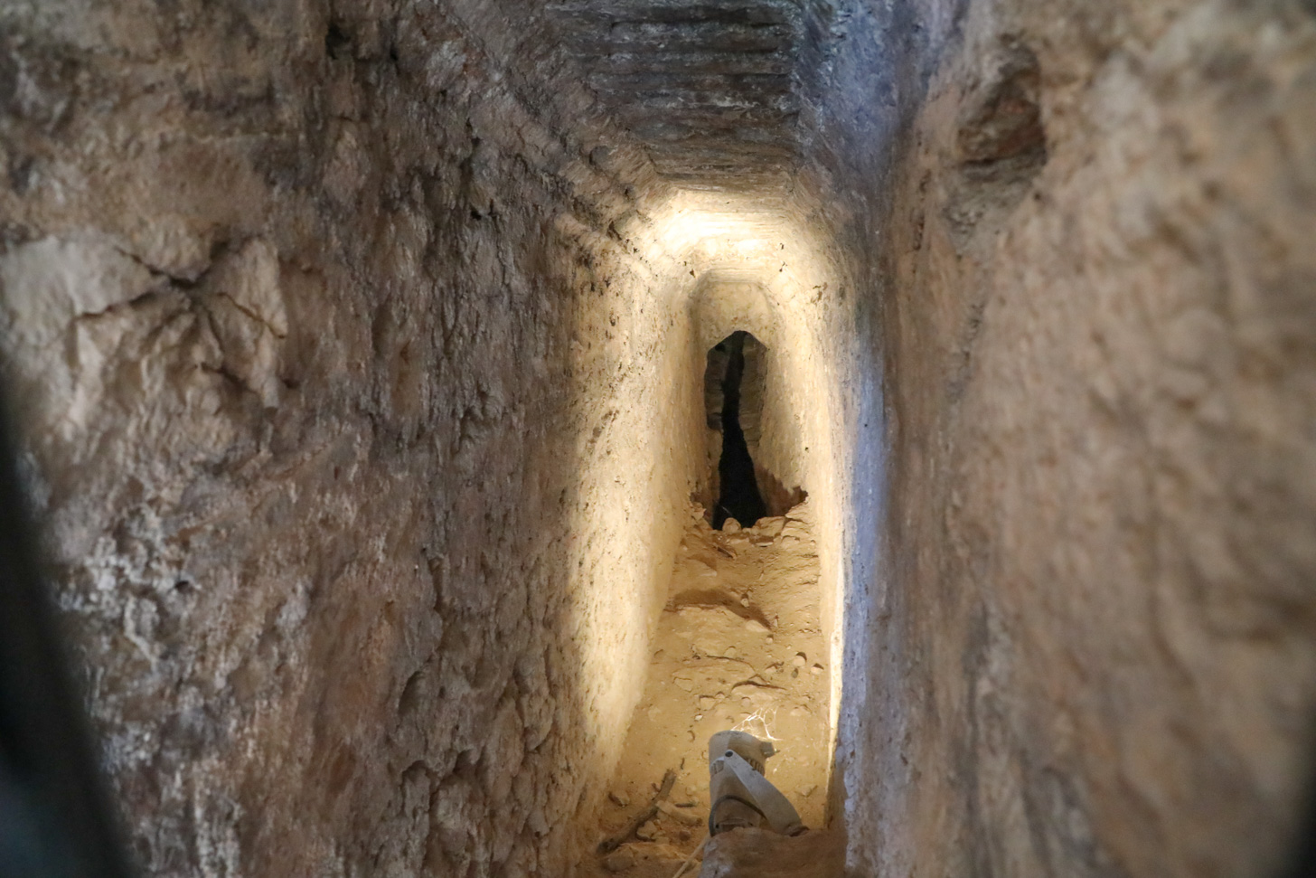 De Eupalinos Tunnel op Samos