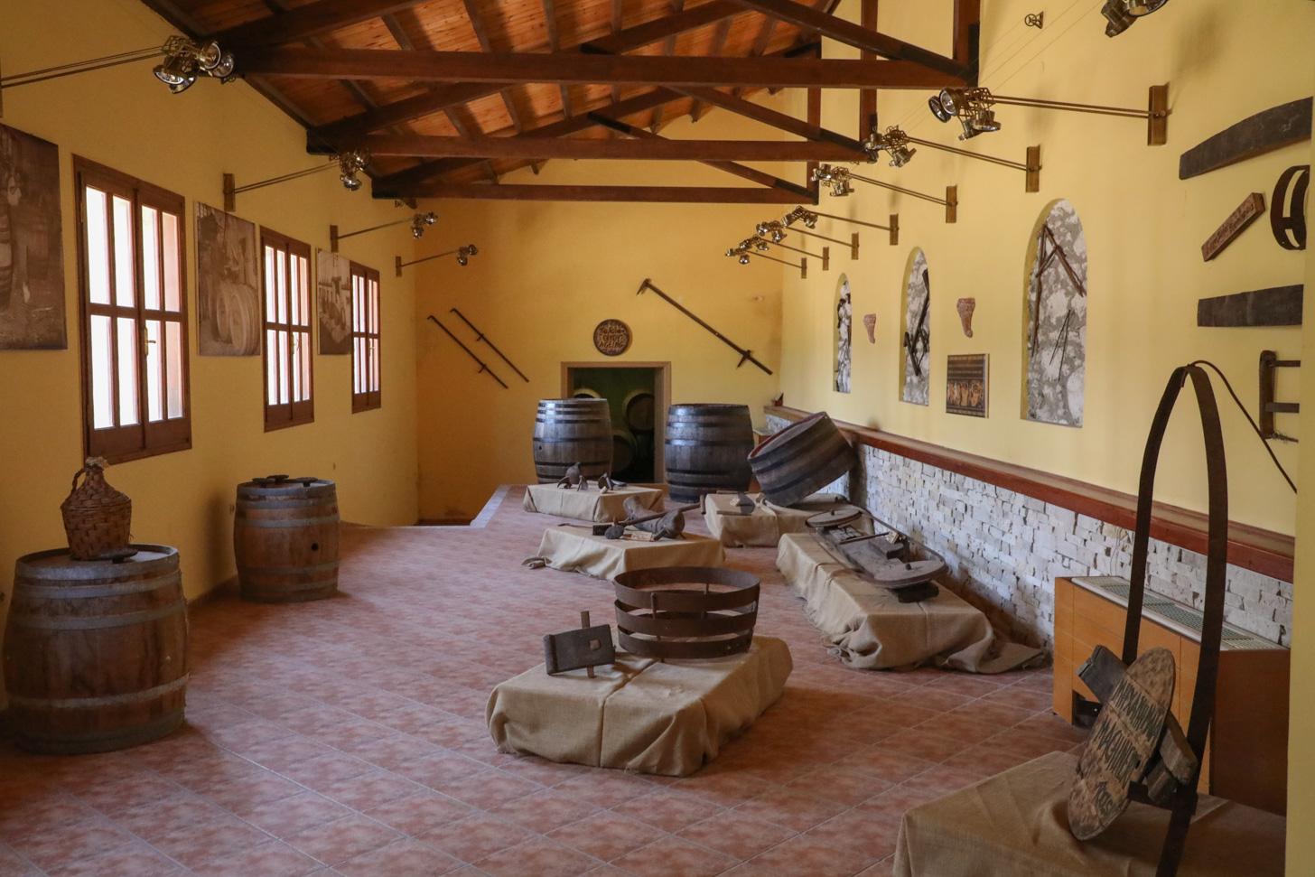 Het Wijnmuseum in Samos-stad