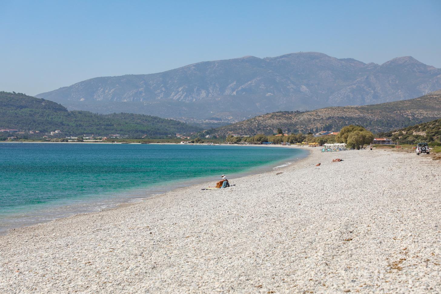 Mykali Beach op Samos