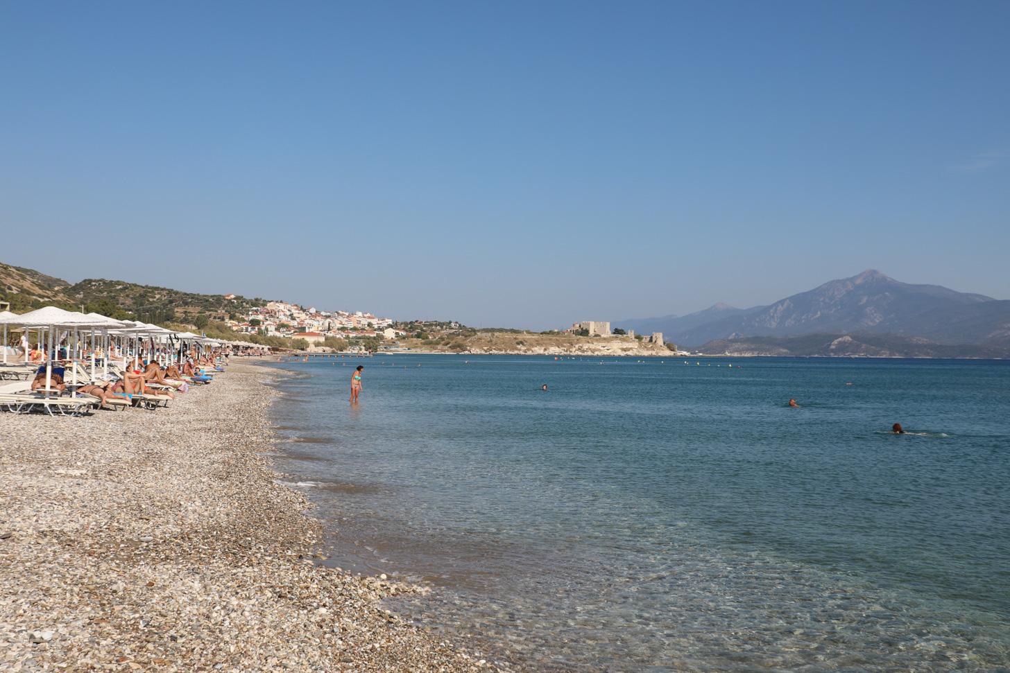 Potokáki Beach op Samos