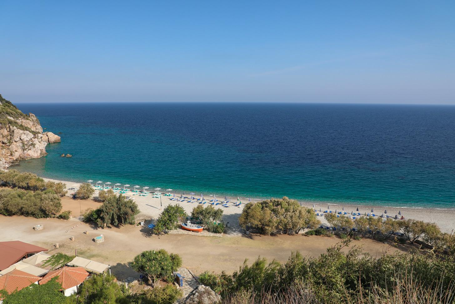 Tsabou Beach op Samos