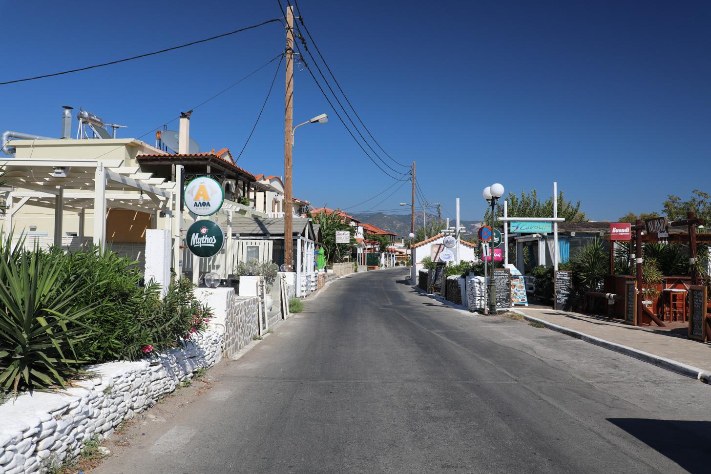 De hoofdstraat van Votsalákia