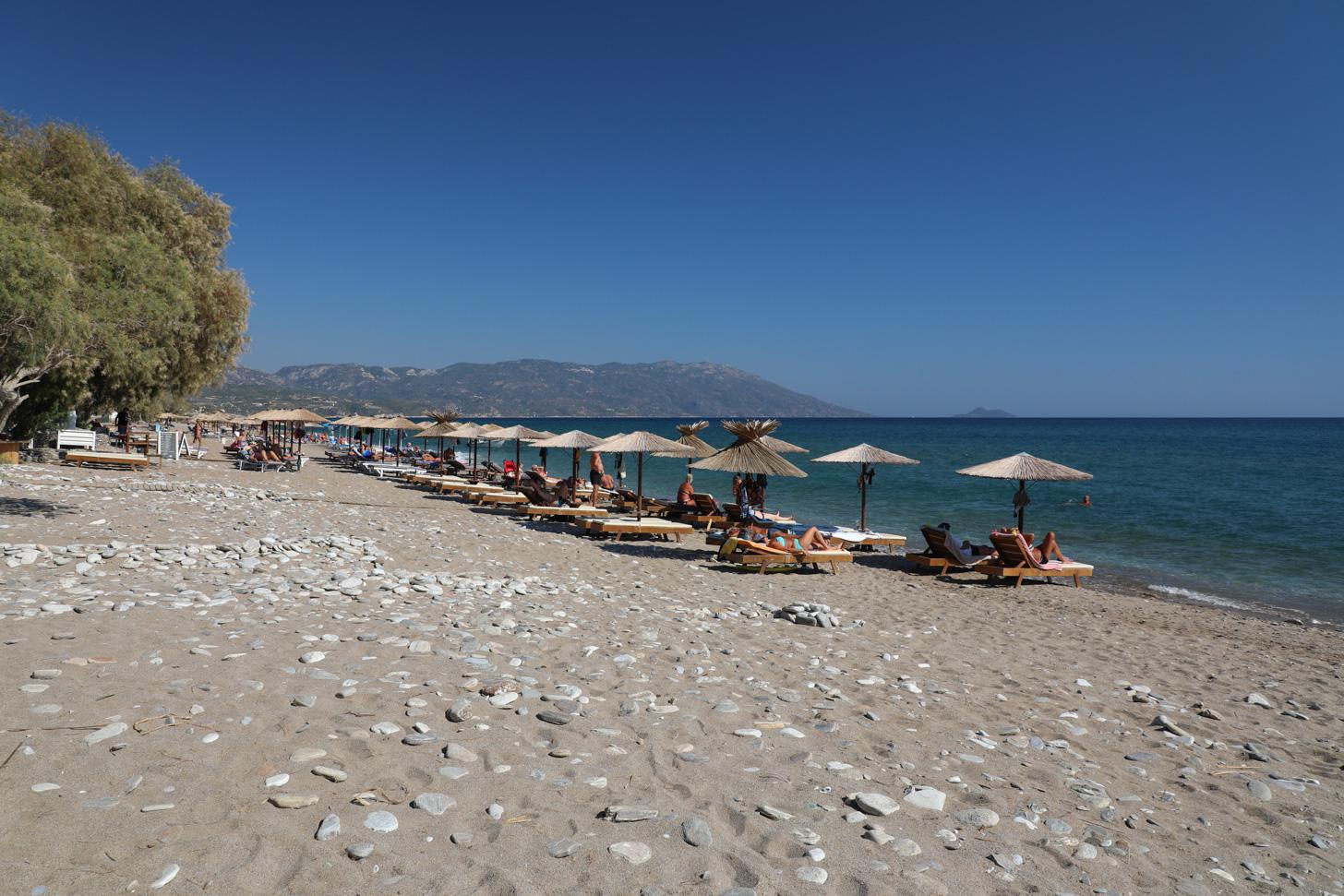 Het strand van Votsalákia