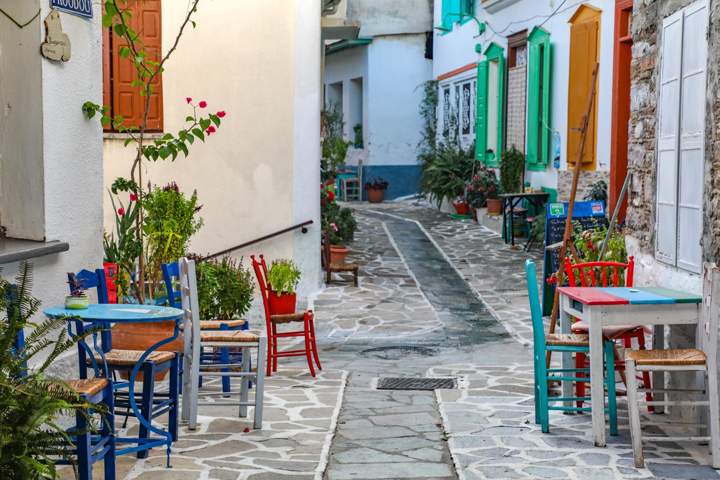 Vourliótes behoort tot de mooiste dorpen van Samos.