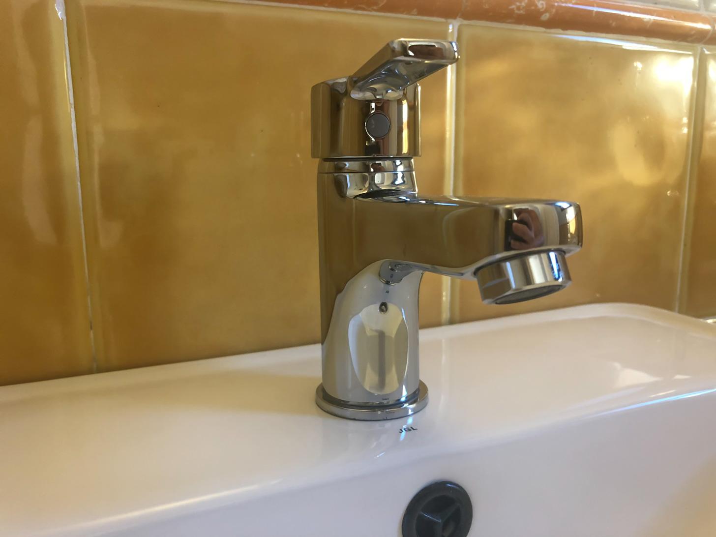 Water uit de kraan drinken is geen probleem op Samos.
