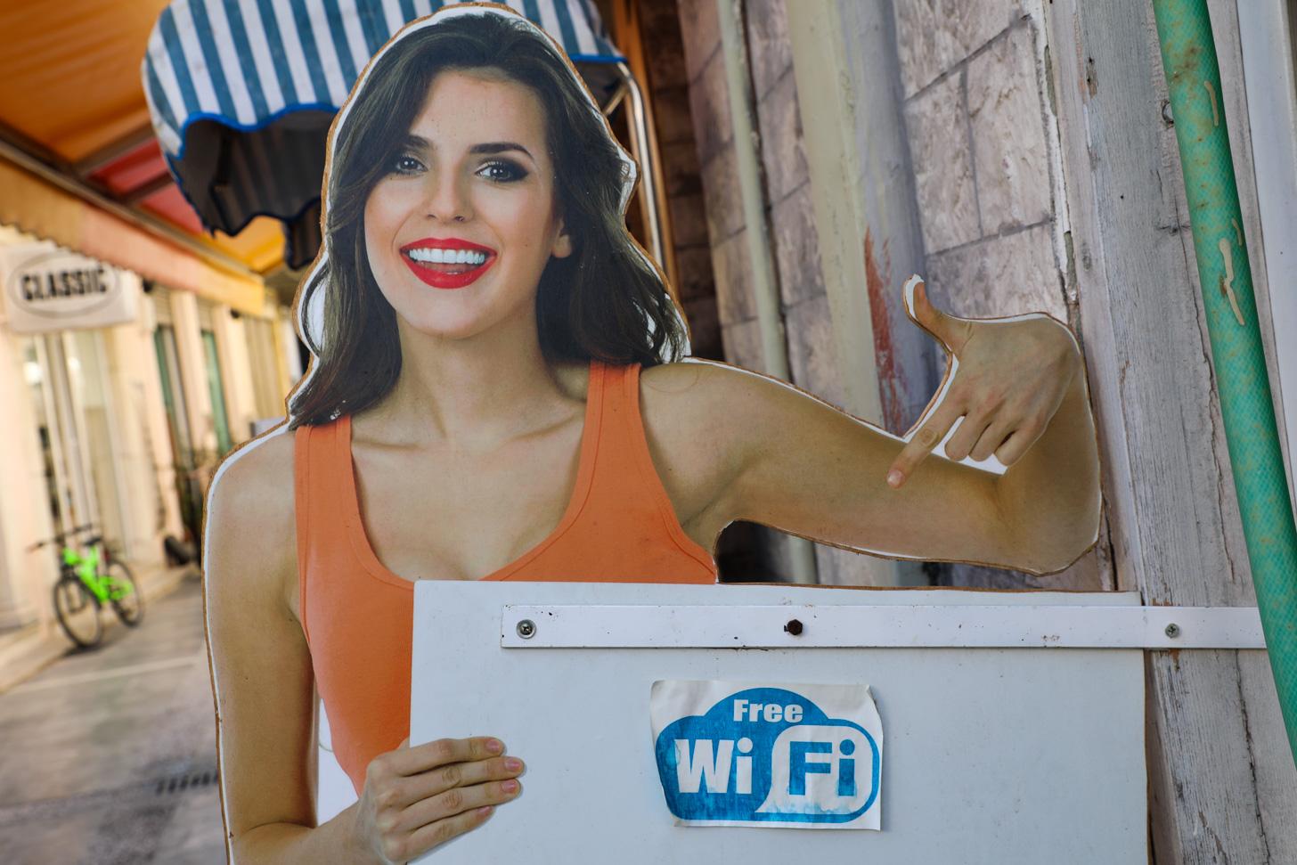 Op veel plekken vind je gratis Wi-Fi