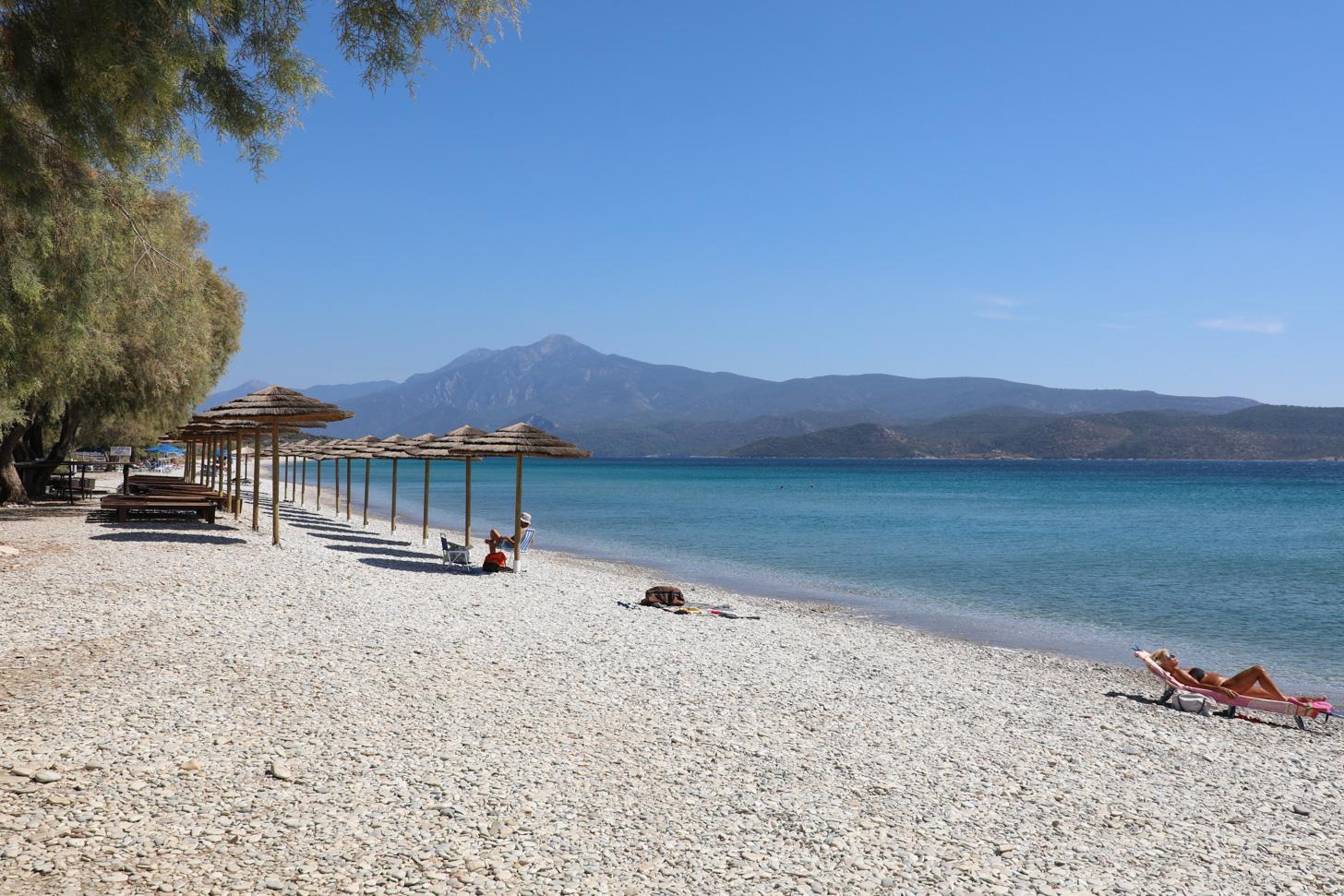 Prachtig strand op Samos