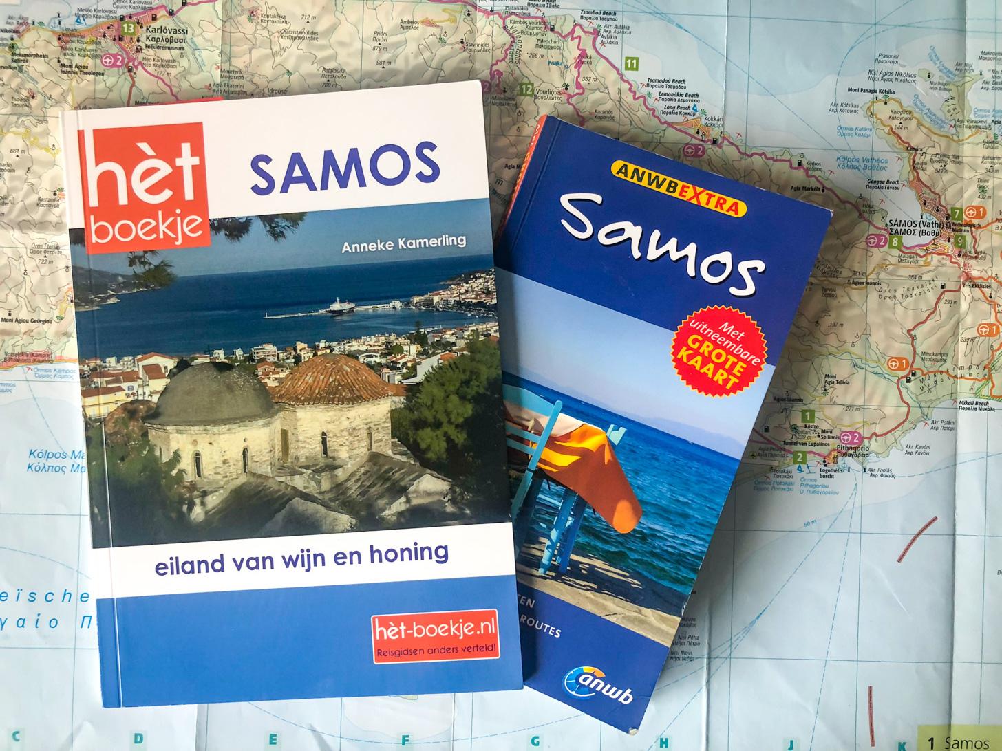 Verschillende Samos reisgidsen